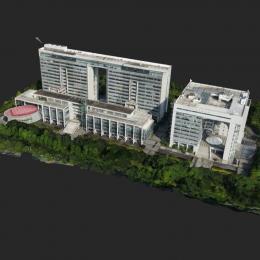 广州科学城创意大厦-三维模型