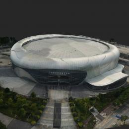 广州国际演艺中心-三维模型