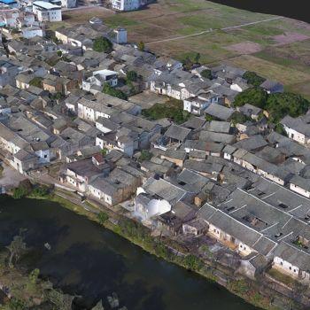 广东河源市·和平县林寨镇林寨村-三维模型