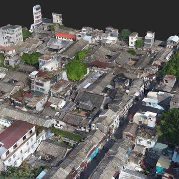 广东潮州市 · 已略黄公祠-三维模型