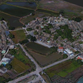 广东惠州市 · 五村-三维模型