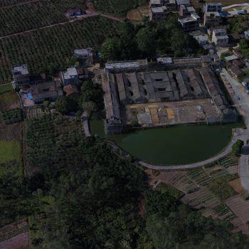 广东惠州市 · 鹤湖围村-三维模型
