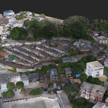广东陆丰市 · 石寨村-三维模型