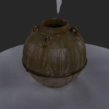 陶罐-三维模型