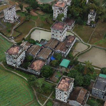 广东江门市 · 开平碉楼-三维模型