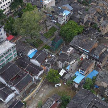 广东梅州市 · 父子进士牌坊-三维模型