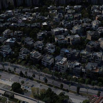 保利香雪山别墅群-三维模型