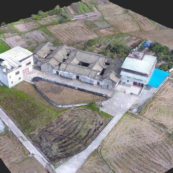广东梅州市 · 双凤第-三维模型
