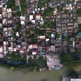 广东佛山市 · 烟桥村-三维模型
