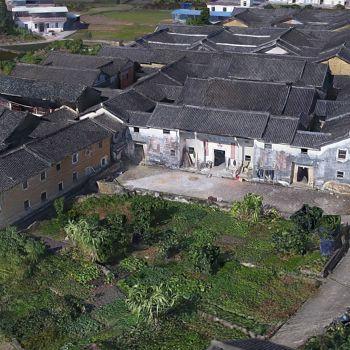 广东梅州市 · 笃敬楼-三维模型