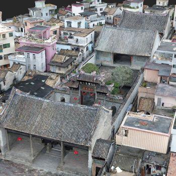 广东广州市 · 石楼陈氏宗祠-三维模型