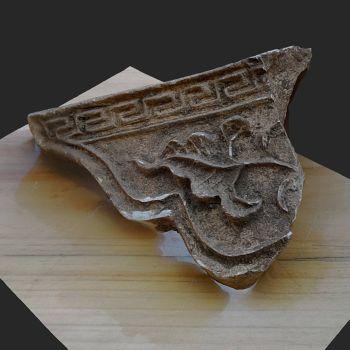 莲花滴水-1-三维模型