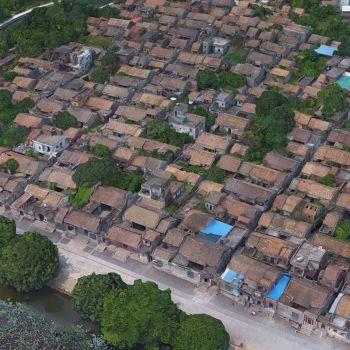 广东广州市 · 塱头村-三维模型