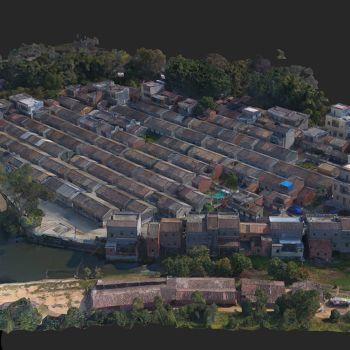 广东肇庆市 · 搓塘村-三维模型