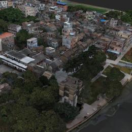 广东广州市 · 瓜岭村-三维模型