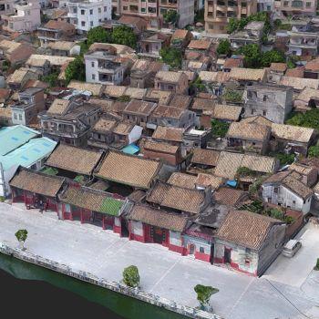 广东东莞市 · 超朗村-三维模型