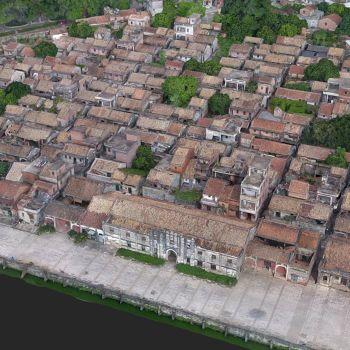广东东莞市 · 西溪村-三维模型