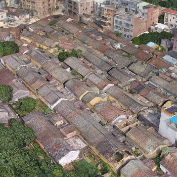 广东东莞市 ·大岭山抗日根据地-三维模型