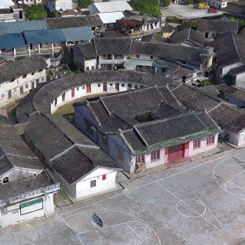 广东梅州市 · 芳心村-三维模型