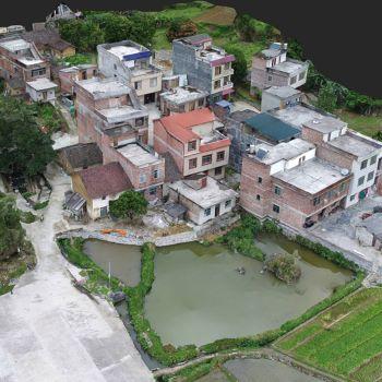 百敢街-三维模型