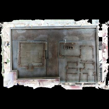 史前建筑遗址-三维模型