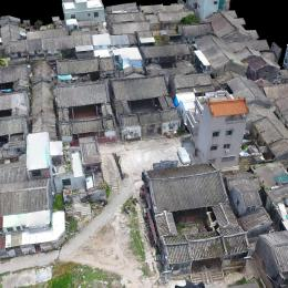 广东省潮州市报本堂-三维模型