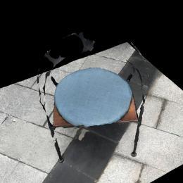 凳子1-三维模型