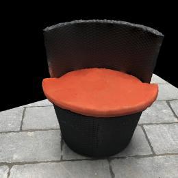 圆凳子-三维模型