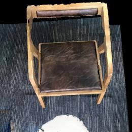 木凳子-三维模型
