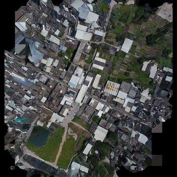 潮安区金石镇大路顶路仙圃圣庙-三维模型