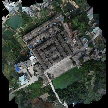 广东省梅州市丰顺县汤坑镇东里村下新屋致中楼-三维模型