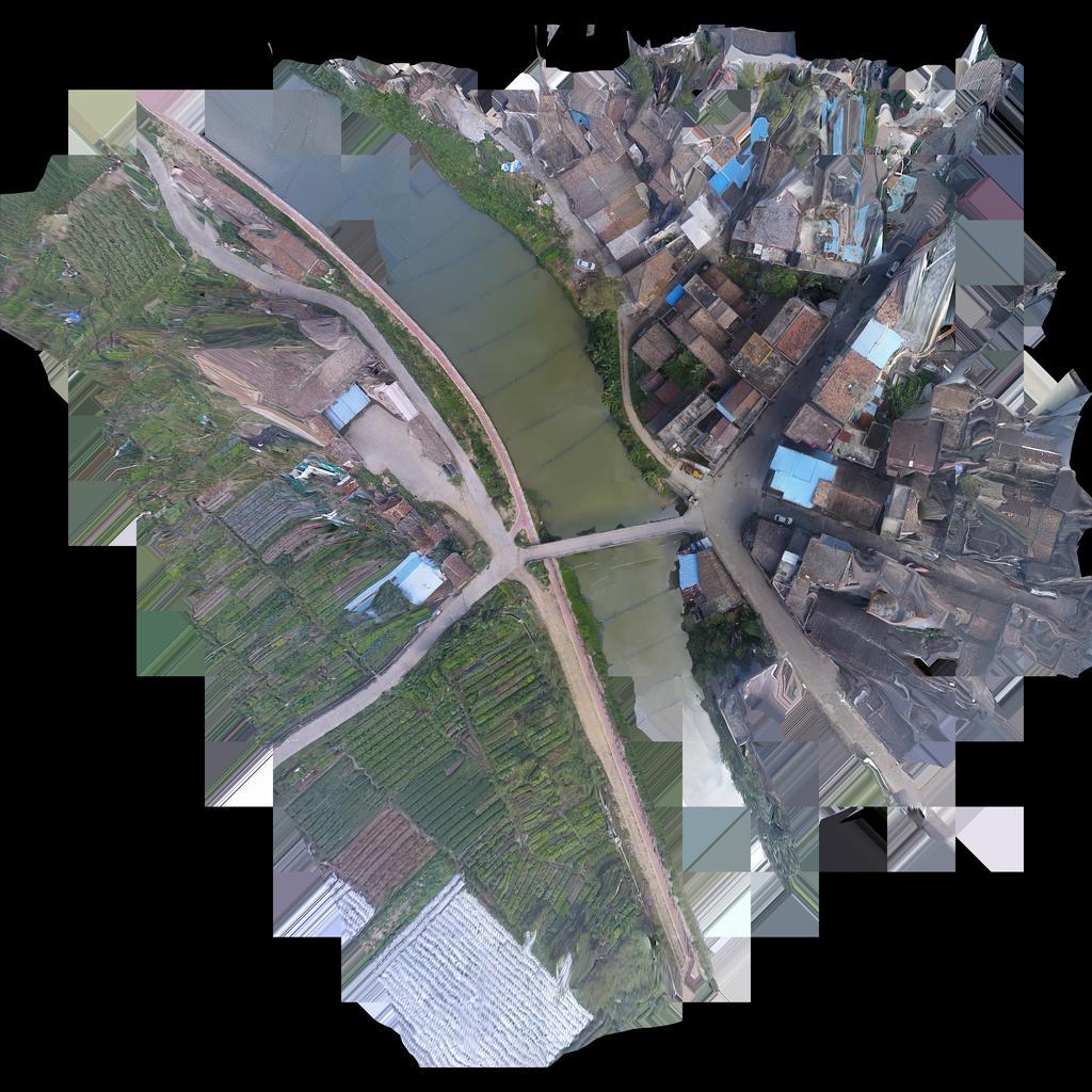 江门杨家园-三维模型