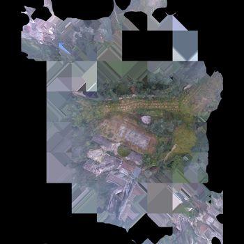 江门白水带革命烈士纪念碑-三维模型