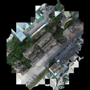 池屋炮楼院-三维模型