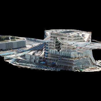 世博现场-三维模型