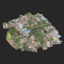 苗城村-三维模型